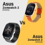 Asus Zenwatch 2 WI501Q vs WI502Q