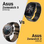 Asus ZenWatch 3 (WI503Q) vs Zenwatch 2 (WI501Q)