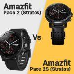 Huami Amazfit Pace 2 (Stratos) vs Amazfit Pace 2S (Stratos)