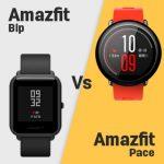 Huami Amazfit Bip vs Amazfit Pace