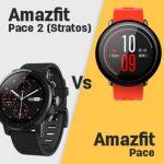 Huami Amazfit Pace 2 (Stratos) vs Amazfit Pace