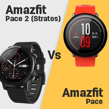 Amazfit Pace 2 Stratos Vs Amazfit Pace Specs