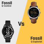 Fossil Q Control vs Fossil Q Explorist