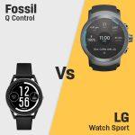 Fossil Q Control vs LG Watch Sport