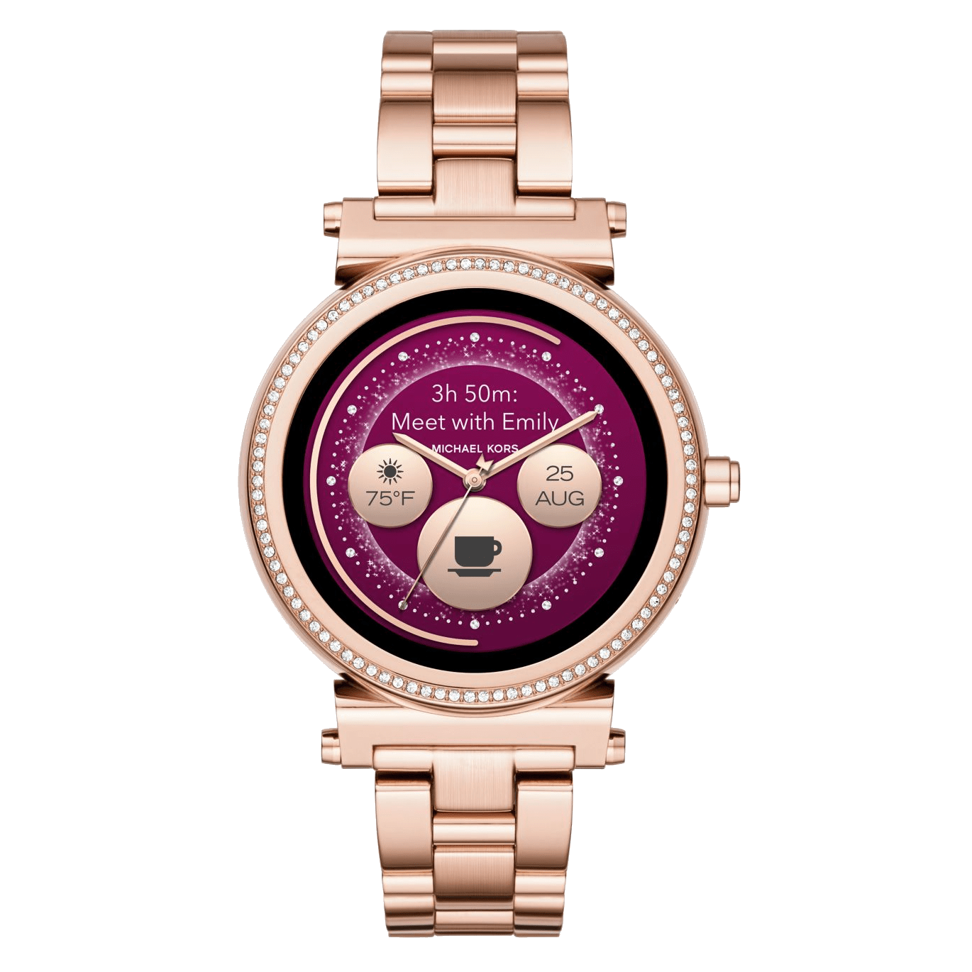 Michael Kors Access Sofie Full Watch Specifications