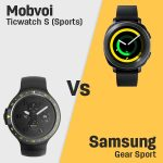 Mobvoi Ticwatch S (Sports) vs Samsung Gear Sport