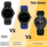 TAG Heuer Connected Modular 41 vs 45 vs Connected 46