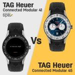 TAG Heuer Connected Modular 41 vs TAG Heuer Connected Modular 45