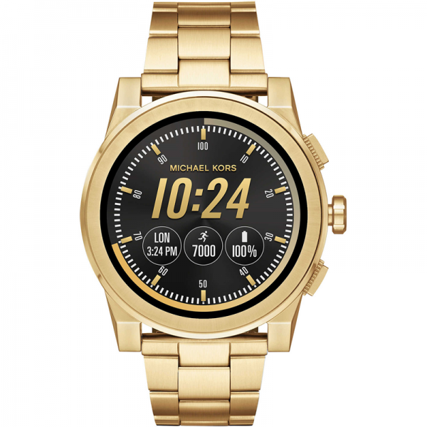 4cf1a92573b8 Michael Kors Access Grayson - Full Watch Specifications